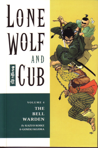 Volume 4 takes Lone Wolf and Cub in some interesting and often dark